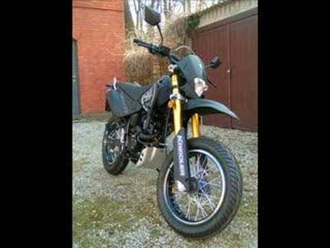 kreidler 125 supermoto fotos youtube. Black Bedroom Furniture Sets. Home Design Ideas