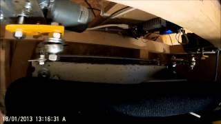 elite dangerous cockpit playseat dynamique effet vertical vue moteurs en fonctionnement
