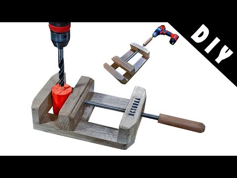 Vise for Drill Press making - DIY