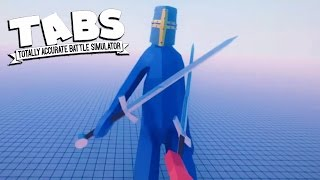 FIRST PERSON TABS!? Totally Accurate Battle Simulator First Person Duels (TABS Gameplay)