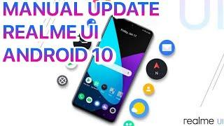 100% Berhasil ! Cara Mendapatkan Update Realme UI Terbaru.