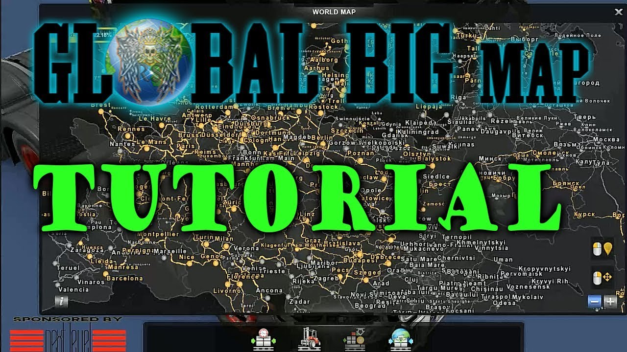 Promods 2 25 + rusmap 1 8 road connection download   Promods