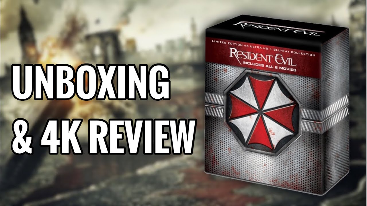 Download RESIDENT EVIL 4K BLU-RAY COLLECTION | UNBOXING & REVIEW