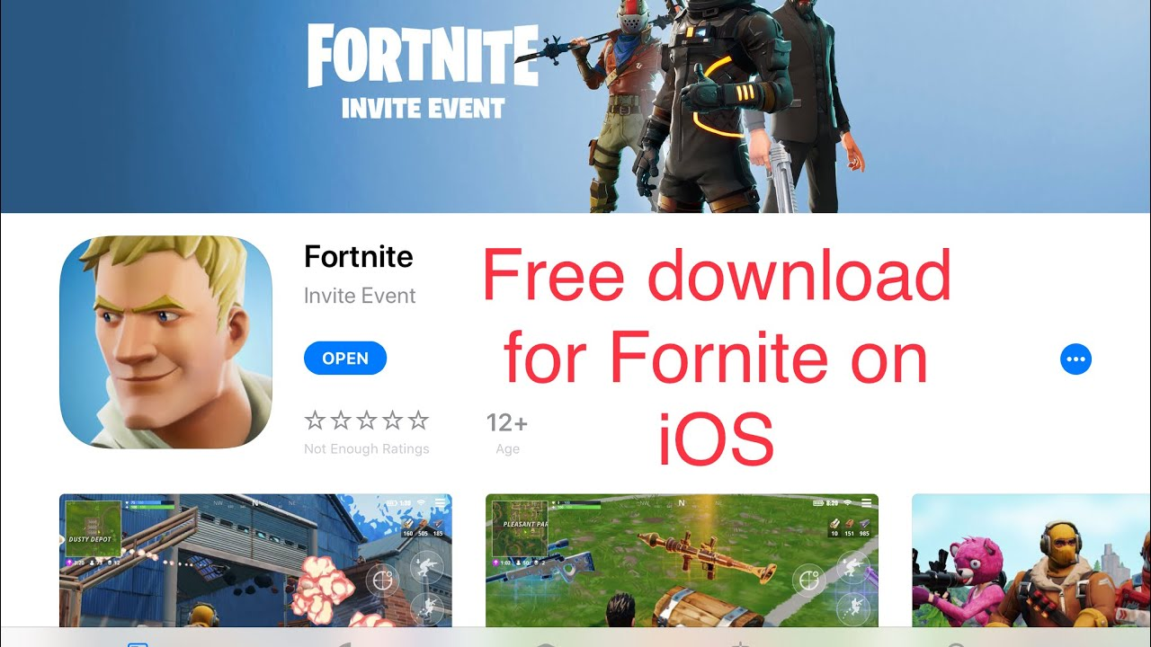 Play Fortnite Right Now On Mobile Download Link In Description