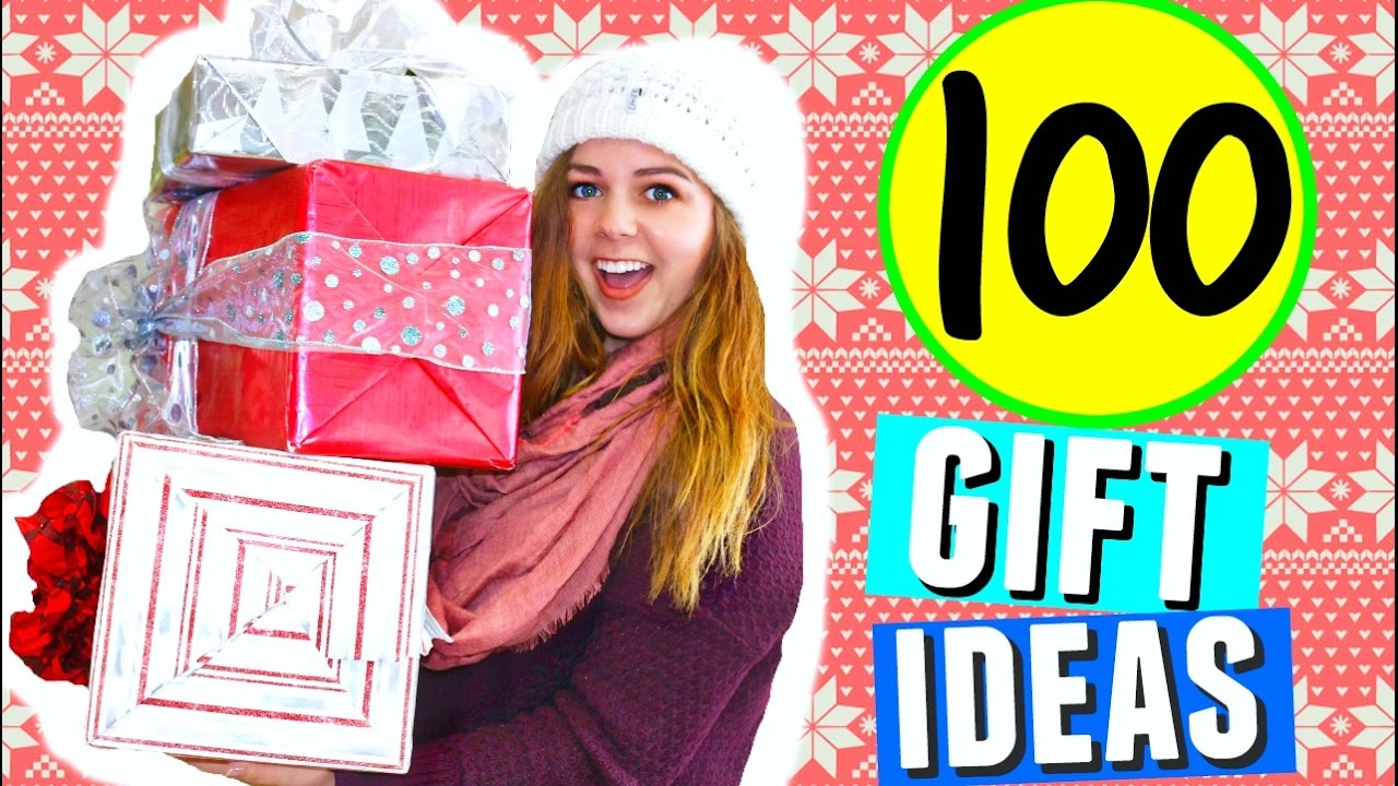 100 Christmas Gift Ideas! Holiday Gift Guide & DIY Christmas ...
