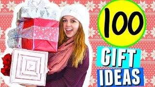 100 Christmas Gift Ideas! Holiday Gift Guide & Diy Christmas Presents!