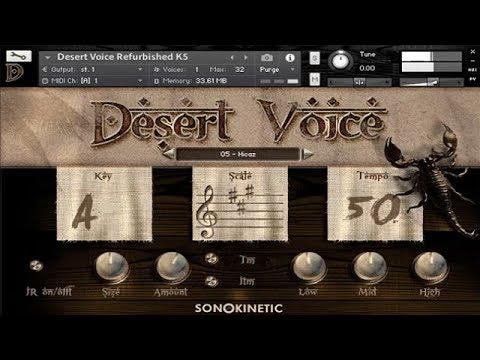 Sonokinetic - Desert Voice Refurbished - Demo