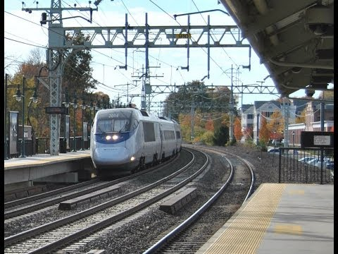 HiDef Amtrak 146 and a Day on Metro Norths NH Line