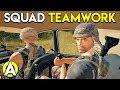 SQUAD TEAMWORK - PLAYERUNKNOWN'S BATTLEGROUNDS W/ Levelcap, Jackfrags, xfactorGaming