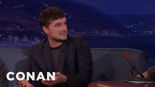 """Josh Hutcherson: James Franco Directed """"The Disaster Artist"""" In Character  - CONAN on TBS"""