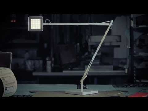 flos kelvin led table lamp from youtube. Black Bedroom Furniture Sets. Home Design Ideas