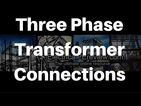 IV.A.7. Three Phase Transformer Connections from Single Phase - NCEES Electrical Power PE Exam