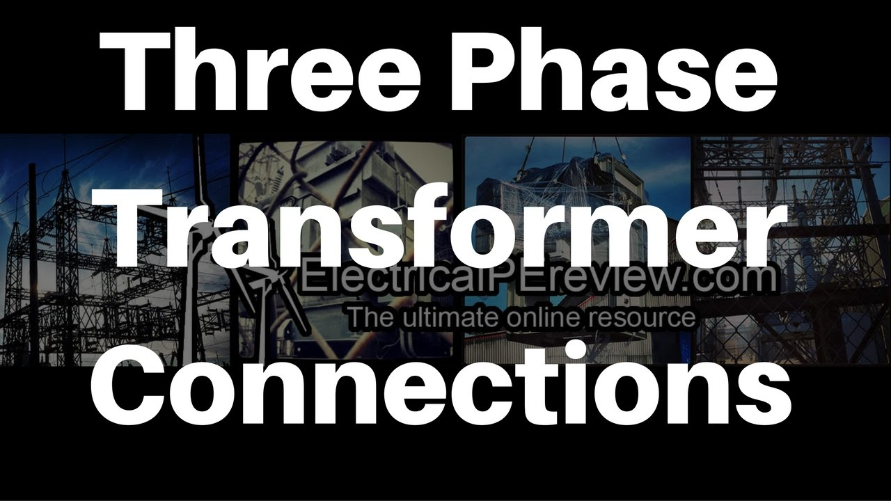 three phase transformer connections from single phase ncees electrical power pe exam [ 1280 x 720 Pixel ]