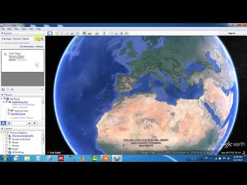Google Map Overlay For Google Earth