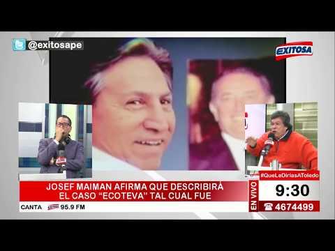 Heriberto Benítez responde a Josef Maiman y defiende a Alejandro Toledo
