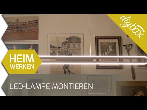 LED-Lampe montieren