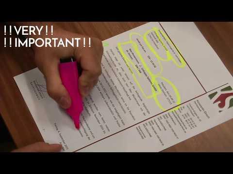 HOW TO WRITE A LETTER LIKE A LAWYER --/ Konstantin Streich -- freiland -- Potsdam --Germany