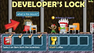 Buying Hamumu and Seth's Lock in GrowTopia (MY NEW WORLD) OMG!! | GrowTopia