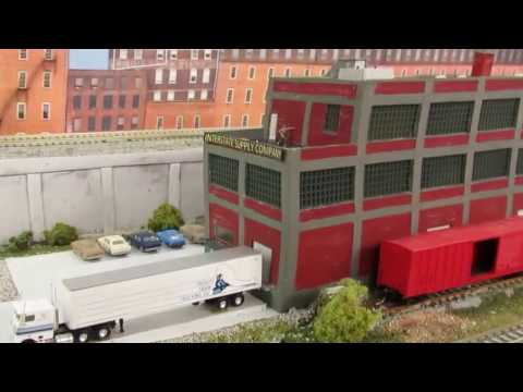 N-Scale Buildings Kit Bashed