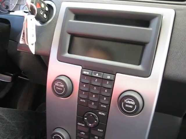 How to remove Radio / CD Changer / from Volvo S40 2006 for