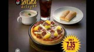 Pizza Hut Malaysia Sensasi Delight - Family Version