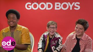 GOOD BOYS: Getting to Know Jacob Tremblay, Keith L. Williams & Brady Noon
