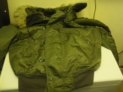 Alpha industries N-2B parka USAF type sage green