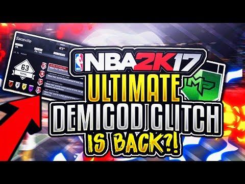 NBA 2K17 DEMIGOD BADGE GLITCH TUTORIAL!? | UNLOCK EVERY BADGE GOLD! | NBA 2K17 GLITCH