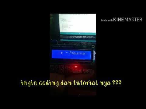 Belajar Lcd Keypad