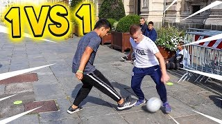 ⚽ 1 vs 1! SE VINCI TI REGALO 5 EURO! (Torino) 💵