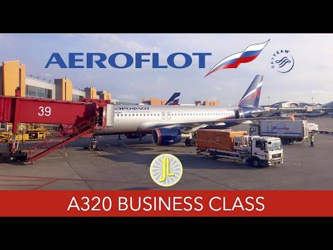 Aeroflot A320 Business Class Moscow to Vienna Flight Report