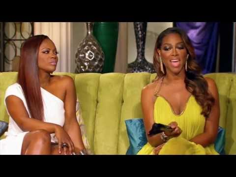 Kenya Moore & Phaedra Parks Fight - 'You Will Be Picking Up Your Teeth From The Floor' RHOA Reunion