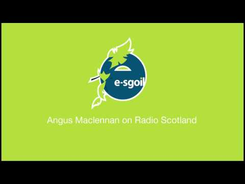 Angus MacLennan, HT e-Sgoil, interview with Kaye Adams BBC Scotland 21.3.17