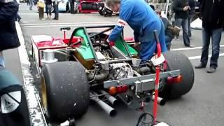 ferrari 312 pb warm up spa classic 2011