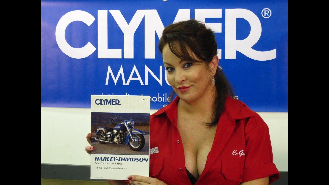 Harley Davidson Covers >> Clymer Manuals Harley Davidson Panheads Panhead Motorcycle ...