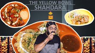 Malai Momos 🔥 Chilli Mushroom 🍄Soya Chap at The Yellow Bowl, Shahdara, East Delhi