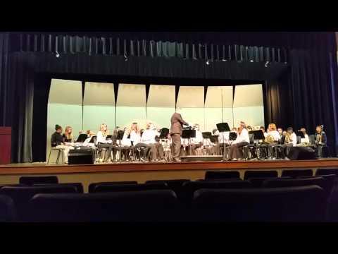 Laurel Park Middle School concert assessment 2016