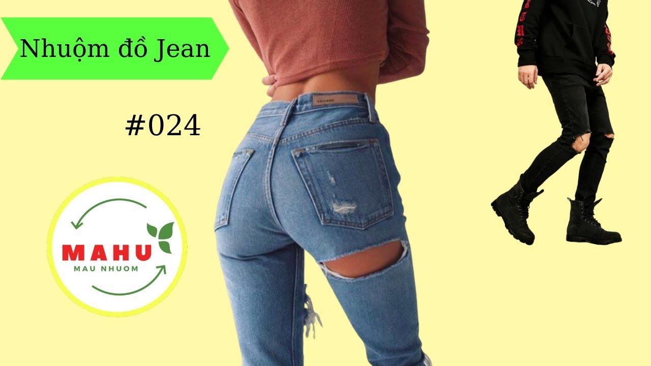 nhuộm Quần Áo #24: nhuộm đen chiếc quần Jean như thế nào?