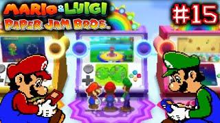 MARIO & LUIGI: PAPER JAM BROS. - Part 15 - PLAYING ARCADE GAMES #GAMECEPTION [ENGLISH]