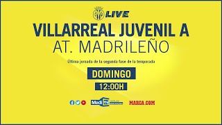 Juvenil A vs At. Madrileño