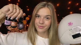 ASMR Doing Your Nails For A Date 💅
