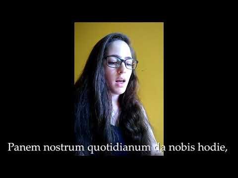 Pater Noster (Gregorian Chant)