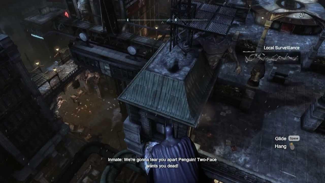 Batman Arkham City DX11 MAX Graphics On PC Gameplay