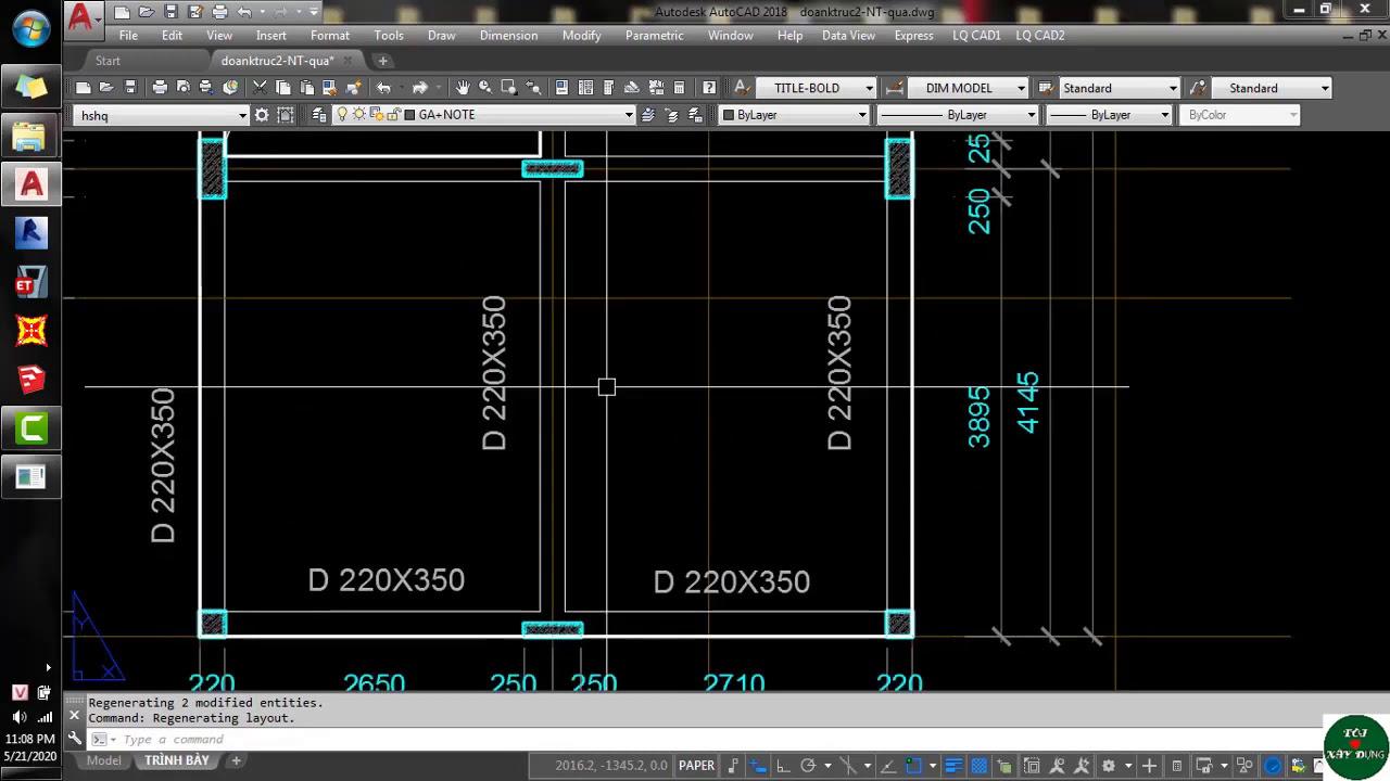 [Auto CAD] Lỗi Nét Đứt Không Xuất Hiện Bên Layout