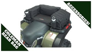 Coleman ATV Rear Padded-Bottom Bag / Unboxing and install review.