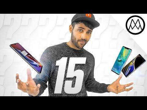 Top 15 BEST Smartphones 2018.