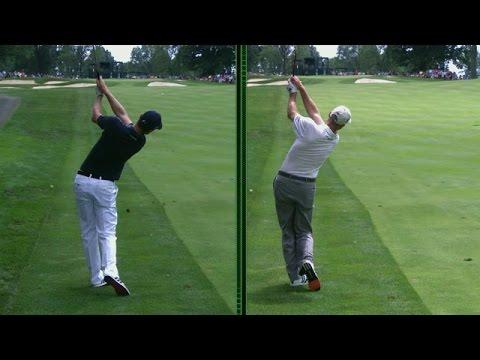 Justin Rose and Jim Furyk's unique swings are analyzed at Bridgestone