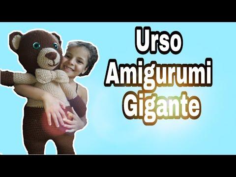 URSO AMIGURUMI - PARTE 01 - YouTube   360x480