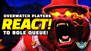 Overwatch Players React To Role Queue!