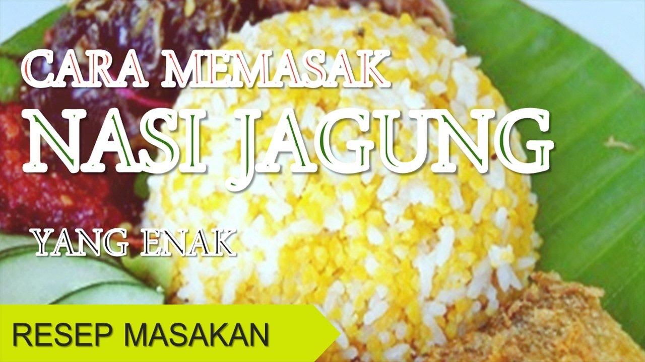 Cara Membuat dan Bumbu Resep Bakwan Jagung Enak Renyah - Resep Masakan Indonesia Enak